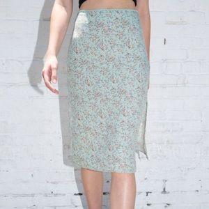 brandy melville phoebe skirt